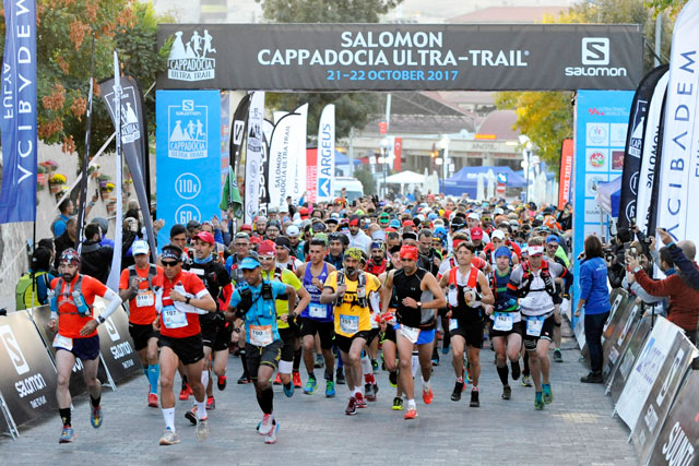 Cappadocia Ultra Trail Start Photos